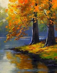 ON GOLDEN POND - Virtual Paint Party